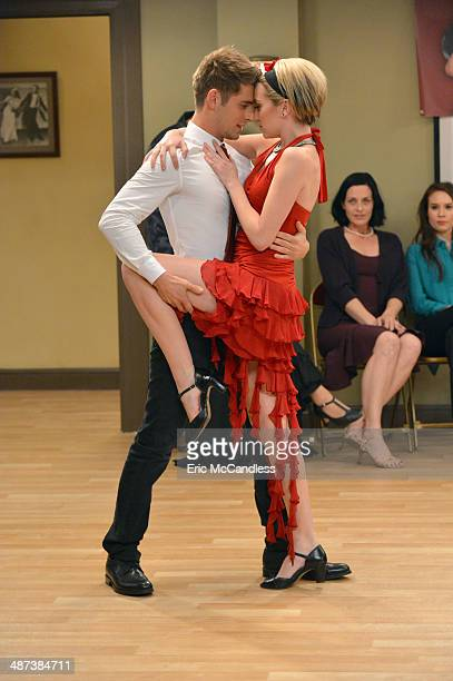 DADDY 'Flirty Dancing' Tucker Riley and Bonnie enter a charity dance competition on an allnew episode of Baby Daddy airing Wednesday May 14 at 830pm...