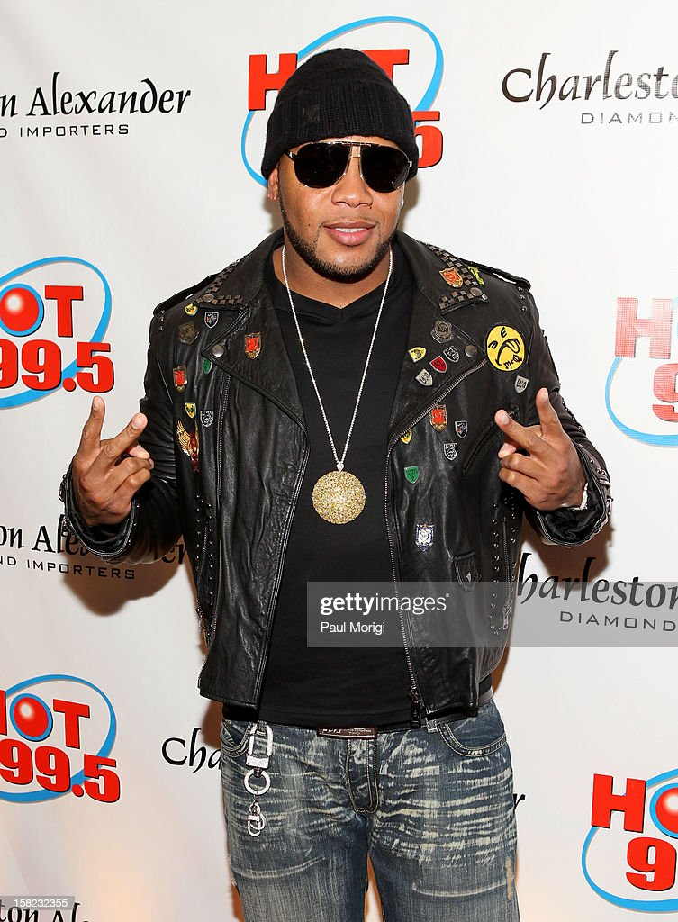 Flo Rida attends Hot 99.5's Jingle Ball 2012, presented by Charleston Alexander Diamond Importers, at The Patriot Center on December 11, 2012 in Washington, D.C.