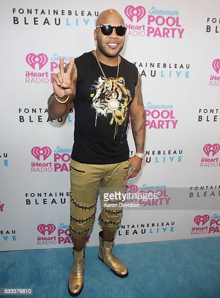 Flo Rida attends IHeartRadio Summer Pool Party 2016 at Fontainebleau Miami Beach on May 21 2016 in Miami Beach Florida