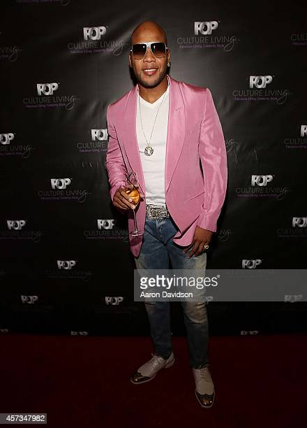 Flo Rida attends POP Culture Living launch with Flo Rida at Sushi Couture on October 16 2014 in Miami Florida