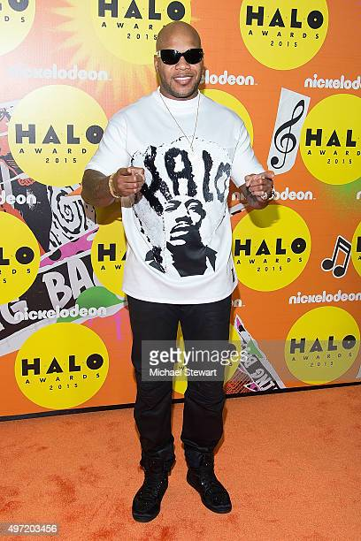 Flo Rida attends the 2015 Halo Awards at Pier 36 on November 14 2015 in New York City