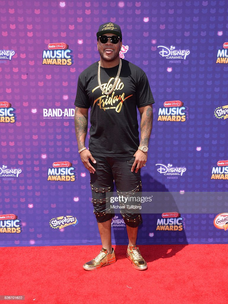 Flo Rida attends the 2016 Radio Disney Music Awards at Microsoft Theater on April 30, 2016 in Los Angeles, California.