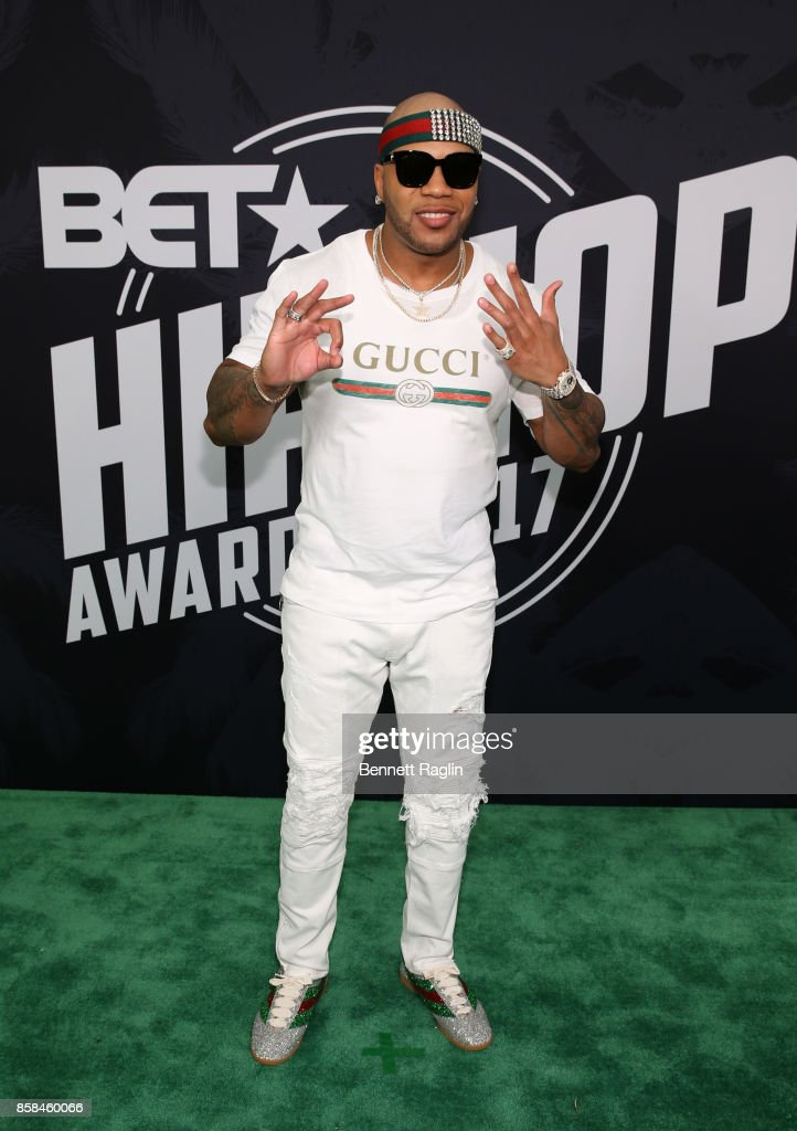 Flo Rida attends the BET Hip Hop Awards 2017 at The Fillmore Miami Beach at the Jackie Gleason Theater on October 6, 2017 in Miami Beach, Florida.