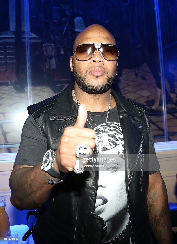 <a gi-track='captionPersonalityLinkClicked' href=/galleries/search?phrase=Flo+Rida&family=editorial&specificpeople=4456012 ng-click='$event.stopPropagation()'>Flo Rida</a> attends the Kenny 'The Jet' Smith all-star party during NBA All-Star Weekend 2014 at Metropolitan Nightclub on February 14, 2014 in New Orleans, Louisiana.