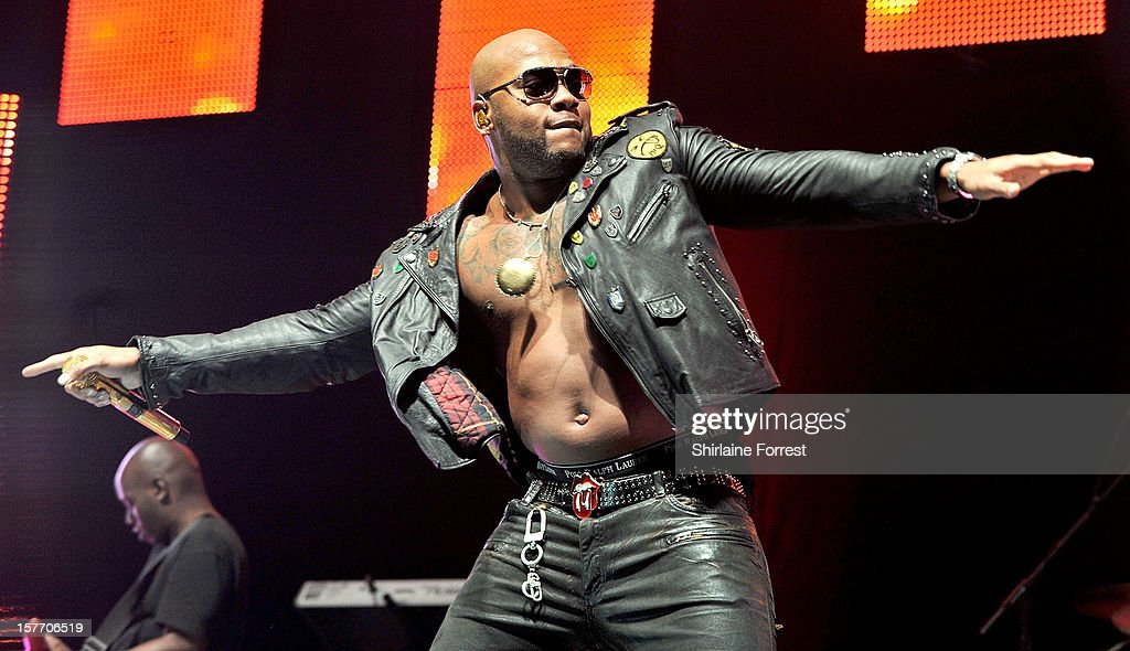 Flo Rida performs at the Key 103 Jingle Ball at Manchester Arena on December 5, 2012 in Manchester, England.