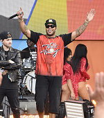 Flo Rida performs during ABC's 'Good Morning America' 2016 Summer Concert Series at SummerStage at Rumsey Playfield Central Park on May 27 2016 in...