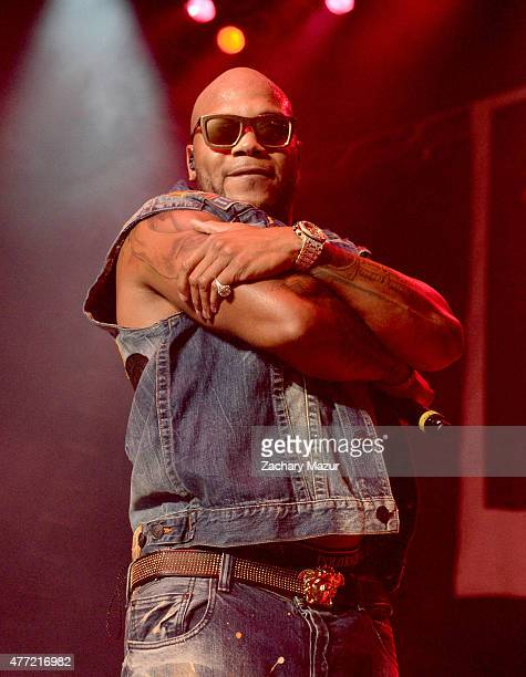 Flo Rida performs onstage during WBLU Summer Jam at Nikon at Jones Beach Theater on June 13 2015 in Wantagh New York