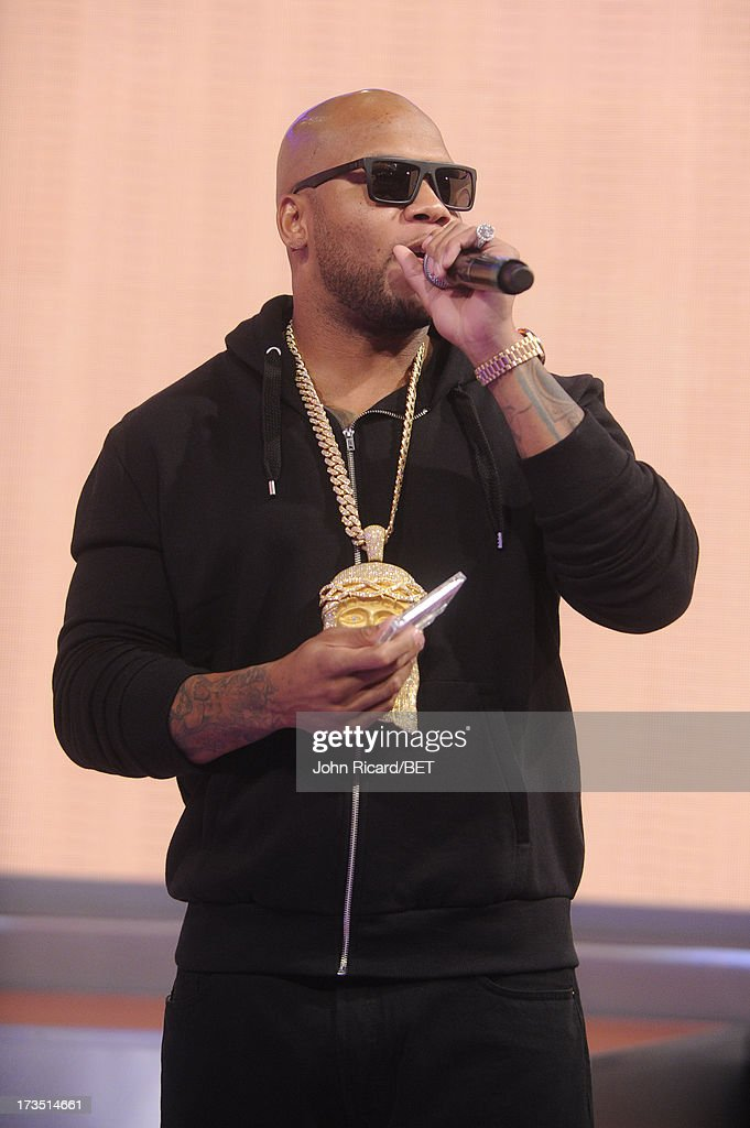 Flo Rida visits BET's 106 & Park at BET Studios on July 15, 2013 in New York City.