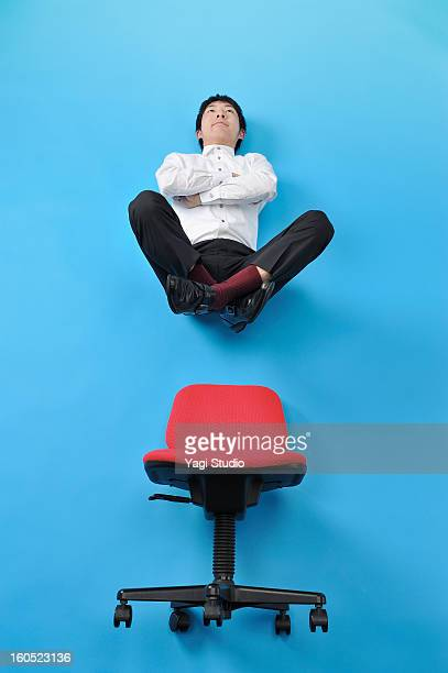 Float a man on a chair