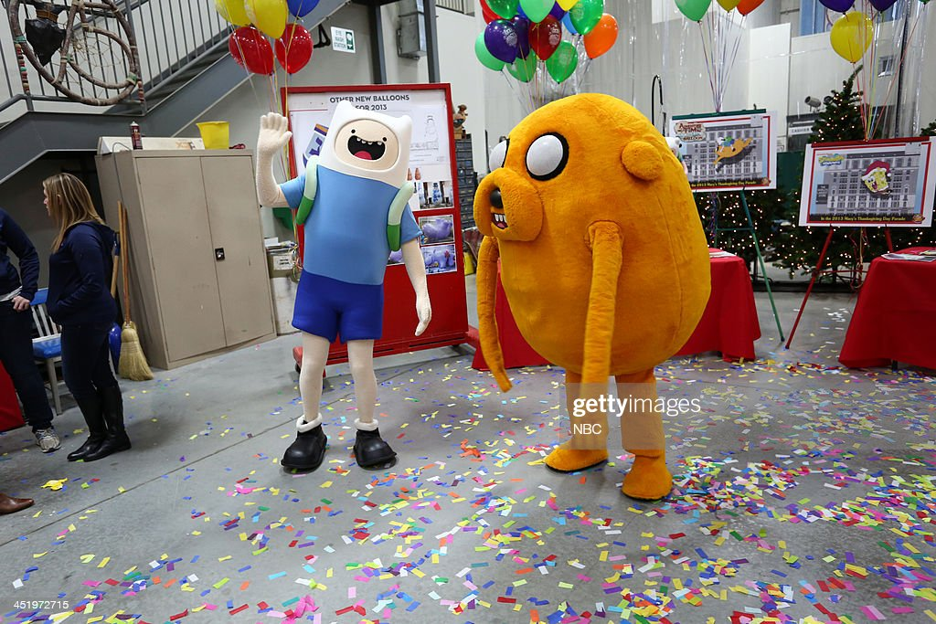 S THANKSGIVING DAY PARADE -- Float Studio Event -- Pictured: Adventure Time --