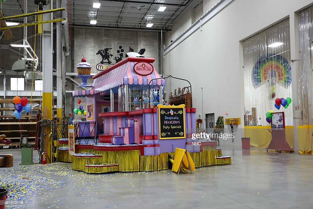 S THANKSGIVING DAY PARADE -- Float Studio Event -- Pictured: Despicable Me 2 float --