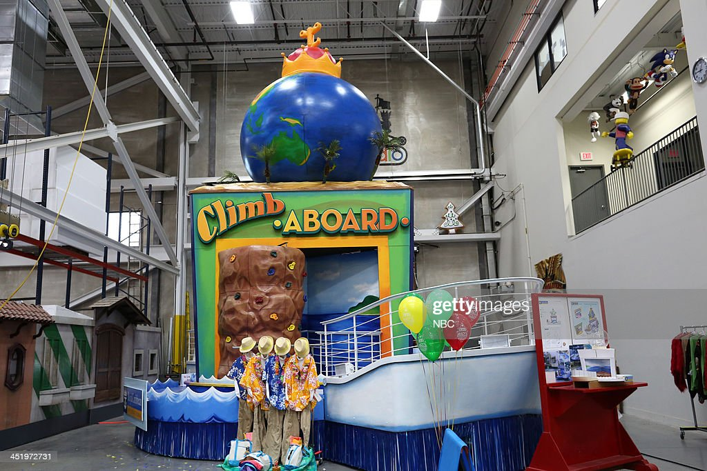 S THANKSGIVING DAY PARADE -- Float Studio Event -- Pictured: Royal Caribbean float --