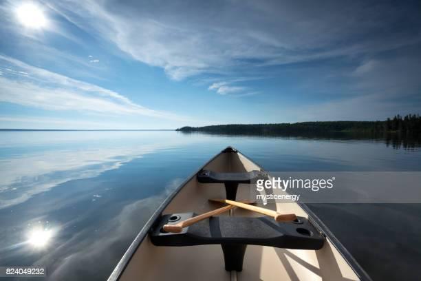 Floating Around Prince Albert National Park