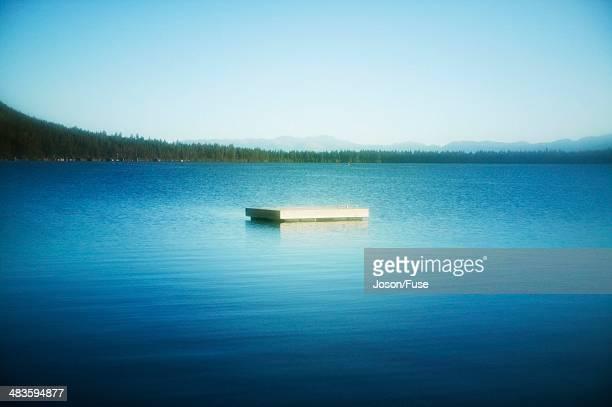 Floating Dock in Lake Tahoe