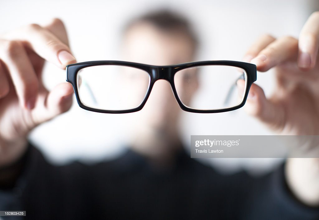 Floating eye glasses