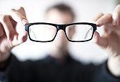 Floating eye glasses
