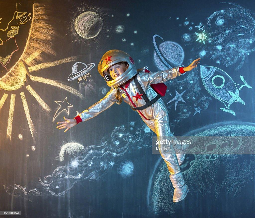 Flottant dans l'espace : Photo