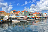 Floating market, Punda, Willemstad, Curaçao