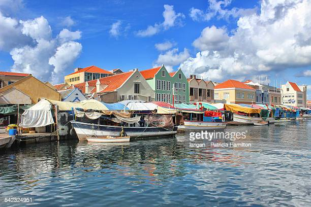 Floating market, Punda, Willemstad, Cura?ao