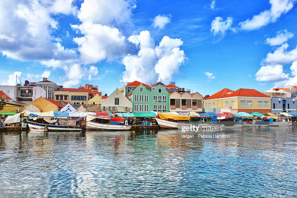 Floating market, Punda, Willemstad, Curaçao