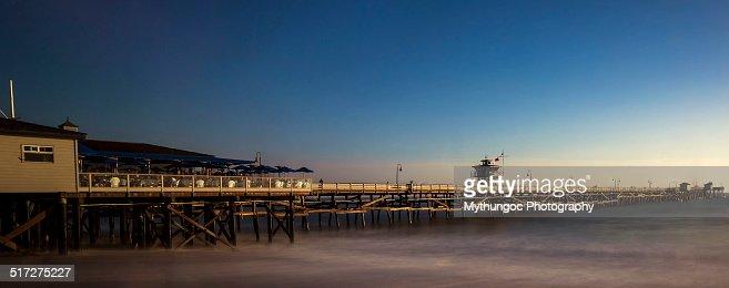 Floating San Clemente Pier