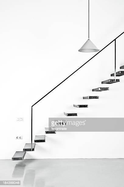 Schwimmende Treppe