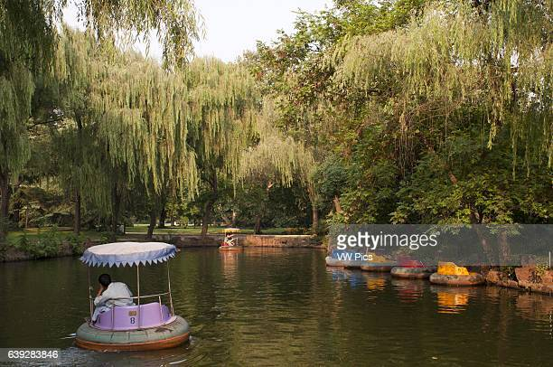 Floating tires for tourists in the Shanghai Zoo Shanghai Zoo is the main zoological garden in Changning District in the Chinese city of Shanghai...