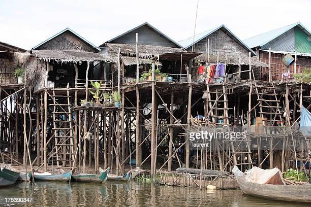 Floating village, Cambodia