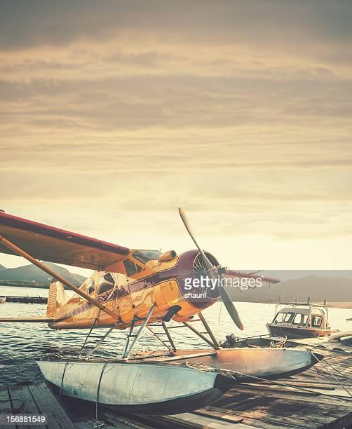 Floatplane in Sunset