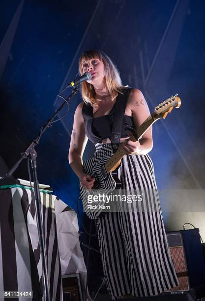 Flock of Dimes performs in concert at Stubb's BarBQ on August 30 2017 in Austin Texas