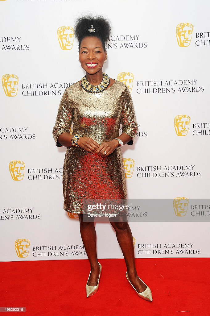 Floella Benjamin attends the British Academy Children's Awards at The Roundhouse on November 22 2015 in London England