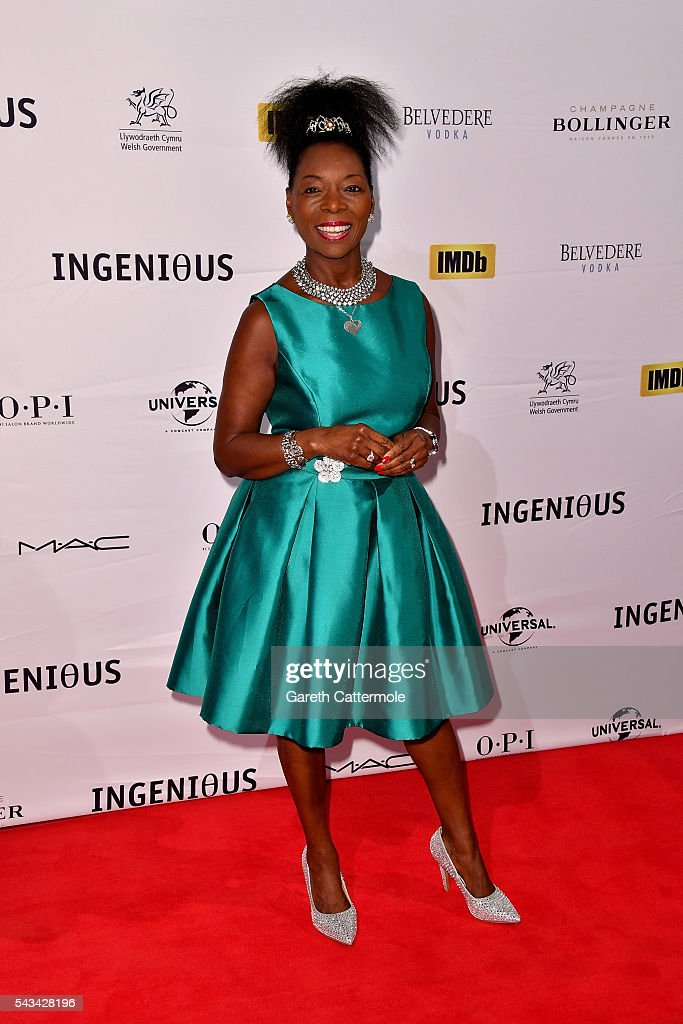Floella Benjamin attends the Natioanl Film and Television School's annual gala at Old Billingsgate Market on June 28, 2016 in London, England.