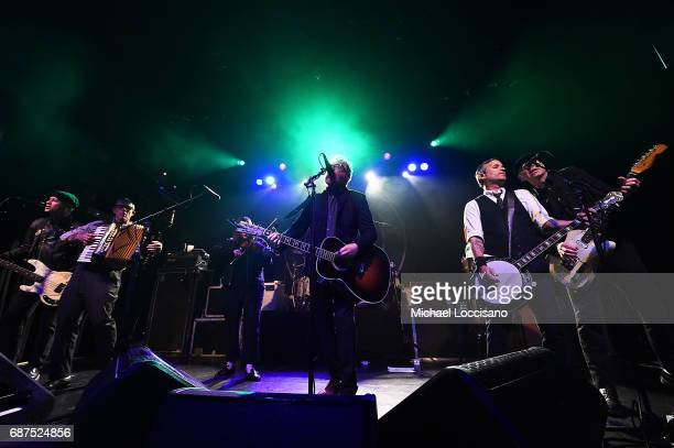 Flogging Molly performs at Irving Plaza on May 23 2017 in New York City