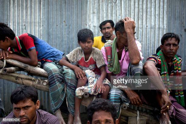 Flood affected women gather to receive relief from a local rulling party MP at Jamtola Sariakandi Bogra Bangladesh 17 August 2017 According to...