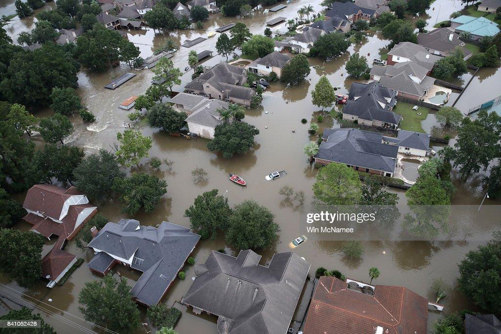 Flooding After Hurricane Harvey Cripples Houston