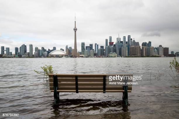 ISLAND ON MAY 26 2017 Flooding at Toronto Island continues to keep the Centre Island closed on the cusp of tourism season