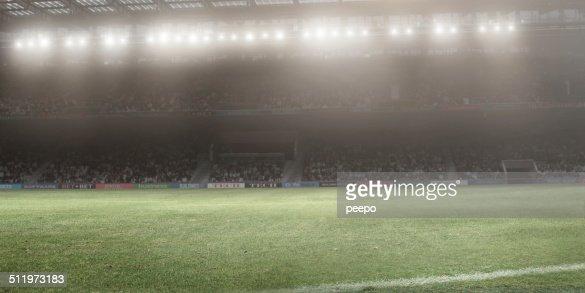 Floodlit Stadium