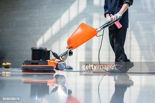 machine d'entretien de plancher : Photo