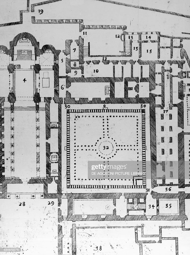floor plan of the monreale cathedral the cloister and cathedral floorplan by mark franklin arts mark franklin arts