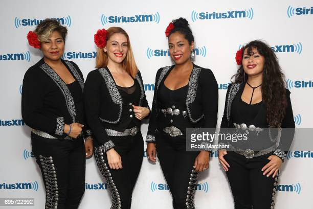 Flor De Toloache visits at SiriusXM Studios on June 13 2017 in New York City