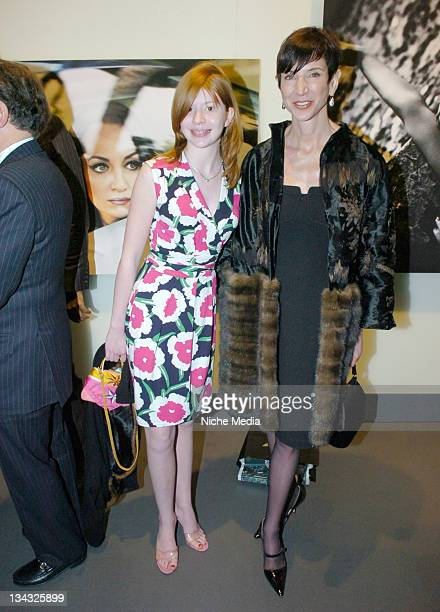 Flora Collins and Amy Fine Collins during Gotham Magazine Somers Farkas and Audi Celebrate the Never Before Seen 2008 Audi S5 with a Party Featuring...
