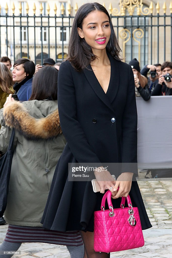 <a gi-track='captionPersonalityLinkClicked' href=/galleries/search?phrase=Flora+Coquerel&family=editorial&specificpeople=11782455 ng-click='$event.stopPropagation()'>Flora Coquerel</a> arrives at the Christian Dior show as part of the Paris Fashion Week Womenswear Fall/Winter 2016/2017 on March 4, 2016 in Paris, France.