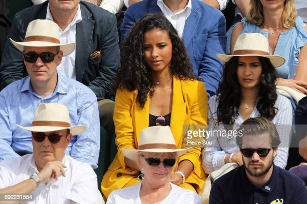 Flora Coquerel is spotted at Roland Garros on June 4 2017 in Paris France