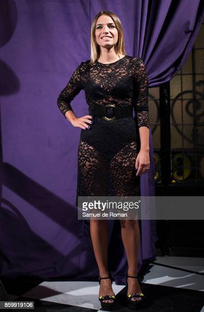 Flora Gonzalez during 'La Familia Addams' Madrid Premiere on October 10 2017 in Madrid Spain