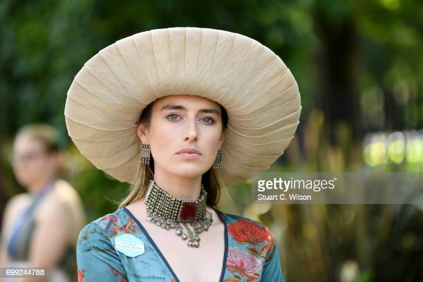 Flora Macdonald Johnston attends Royal Ascot 2017 at Ascot Racecourse on June 21 2017 in Ascot England