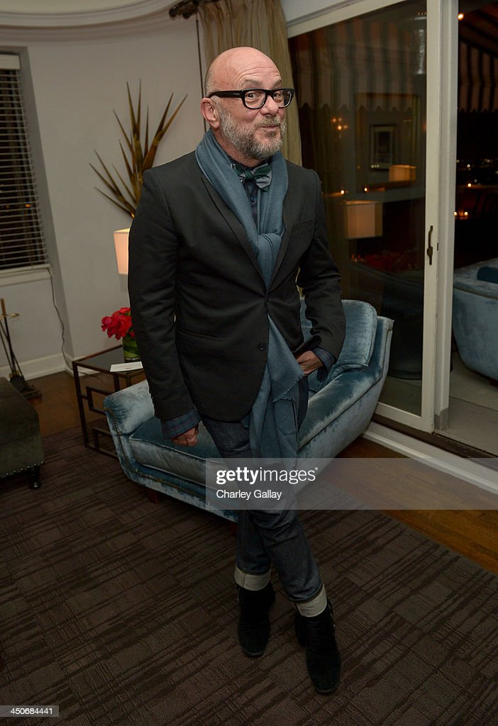 Floral designer Eric Buterbaugh attends the launch celebration of the Banana Republic L'Wren Scott Collection hosted by Banana Republic, L'Wren Scott and Krista Smith at Chateau Marmont on November 19, 2013 in Los Angeles, California.
