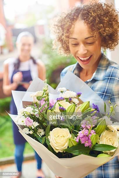 floral doorstep delivery