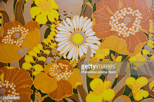 Floral pattern, full frame