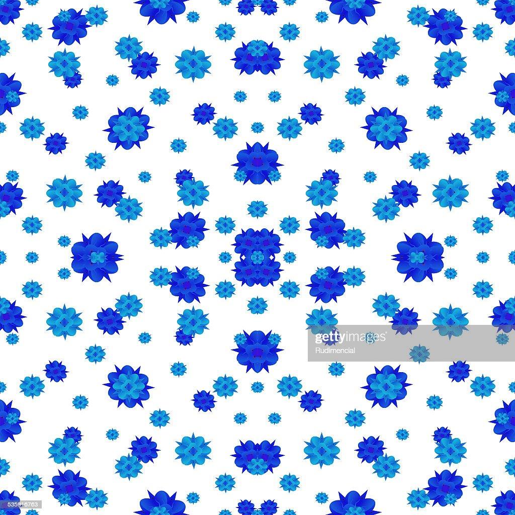 Floral Print Style Modern Pattern : Stock Photo