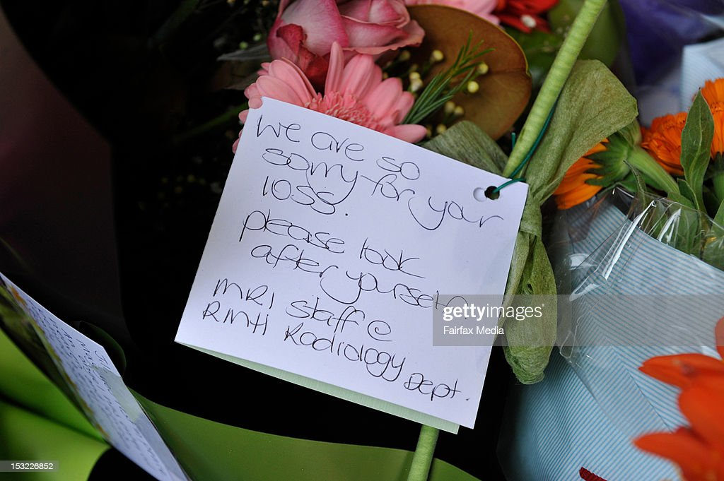 Floral tributes are placed the spot on Sydney Road in Brunswick, Melbourne, where murdered Irish woman, Jill Meagher, was last seen alive, September 26 2012. Coburg man Adrian Ernest Bayley was charged with the murder and rape of Irish national Jill Meagher. Her body was found by police buried in a shallow grave north-west of Melbourne.